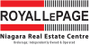 Royal LePage Niagara Real Estate Centre Brokerage real estate logo