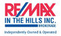 RE/MAX IN THE HILLS INC. real estate logo
