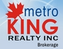 METRO KING REALTY INC. real estate logo