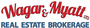 Wagar and Myatt Ltd., Brokerage real estate logo