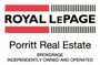 ROYAL LEPAGE PORRITT REAL ESTATE real estate logo