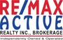 RE/MAX ACTIVE REALTY INC. real estate logo