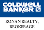 COLDWELL BANKER RONAN REALTY, BROKERAGE real estate logo