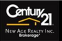 CENTURY 21 NEW AGE REALTY INC. real estate logo