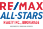 RE/MAX ALL-STARS REALTY INC., BROKERAGE real estate logo