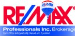 RE/MAX PROFESSIONALS INC real estate logo