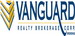 VANGUARD REALTY BROKERAGE CORP., Brokerage real estate logo