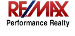 RE/MAX Performance Realty real estate logo