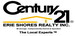 CENTURY 21 ERIE SHORES REALTY INC. - 210 real estate logo