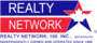 Realty Network : 100 Inc., Brokerage real estate logo