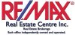 REMAX REAL ESTATE CENTRE INC. real estate logo