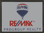 RE/MAX Progroup Realty real estate logo