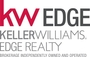 KELLER WILLIAMS EDGE REALTY., BROKERAGE real estate logo