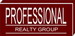 Professional Realty Group real estate logo