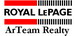 Royal Lepage Arteam Realty real estate logo