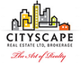 CITYSCAPE REAL ESTATE LTD. real estate logo