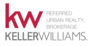 KELLER WILLIAMS REFERRED URBAN REALTY, BROKERAGE real estate logo