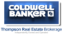 COLDWELL BANKER THOMPSON REAL ESTATE, BROKERAGE, BURKS FALLS - M255 real estate logo