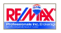 RE/MAX PROFESSIONALS INC. real estate logo