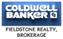 COLDWELL BANKER FIELDSTONE REALTY, BROKERAGE real estate logo