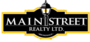 MAIN STREET REALTY LTD., BROKERAGE real estate logo