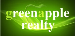 Green Apple Realty real estate logo