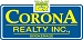 Corona Realty Inc. real estate logo