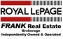 ROYAL LEPAGE FRANK REAL ESTATE