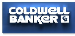 COLDWELL BANKER THOMPSON REAL ESTATE, BROKERAGE, SOUTH RIVER - M256 real estate logo