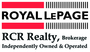ROYAL LEPAGE RCR REALTY real estate logo