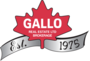 GALLO REAL ESTATE LTD. real estate logo