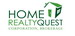 HOME REALTY QUEST CORPORATION real estate logo