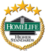 Homelife Professionals Realty Inc. real estate logo