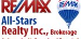RE/MAX ALL-STARS REALTY INC. real estate logo