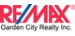 RE/MAX GARDEN CITY REALTY INC, BROKERAGE real estate logo