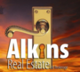 ALKINS REAL ESTATE LTD. real estate logo
