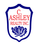 ASHLEY, C., REALTY INC. real estate logo