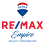 RE/MAX EMPIRE REALTY real estate logo