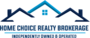 HOME CHOICE REALTY INC. real estate logo