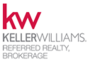 KELLER WILLIAMS REFERRED REALTY real estate logo