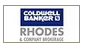 COLDWELL BANKER RHODES & COMPANY, Brokerage real estate logo