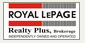 ROYAL LEPAGE REALTY PLUS real estate logo