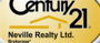 Century 21 Neville Realty Brokerage real estate logo
