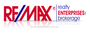 RE/MAX REALTY ENTERPRISES INC. real estate logo