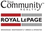 ROYAL LEPAGE YOUR COMMUNITY REALTY real estate logo