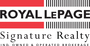 ROYAL LEPAGE SIGNATURE REALTY, BROKERAGE real estate logo