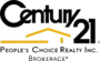 Century21 People's Choice Realty Inc. real estate logo