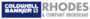 Coldwell Banker Rhodes & Company Ltd., Brokerage real estate logo