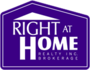 RIGHT AT HOME REALTY INC real estate logo