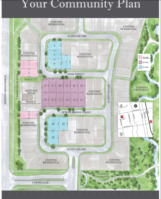 Home Finding Sites: New Home Community Development In Ajax